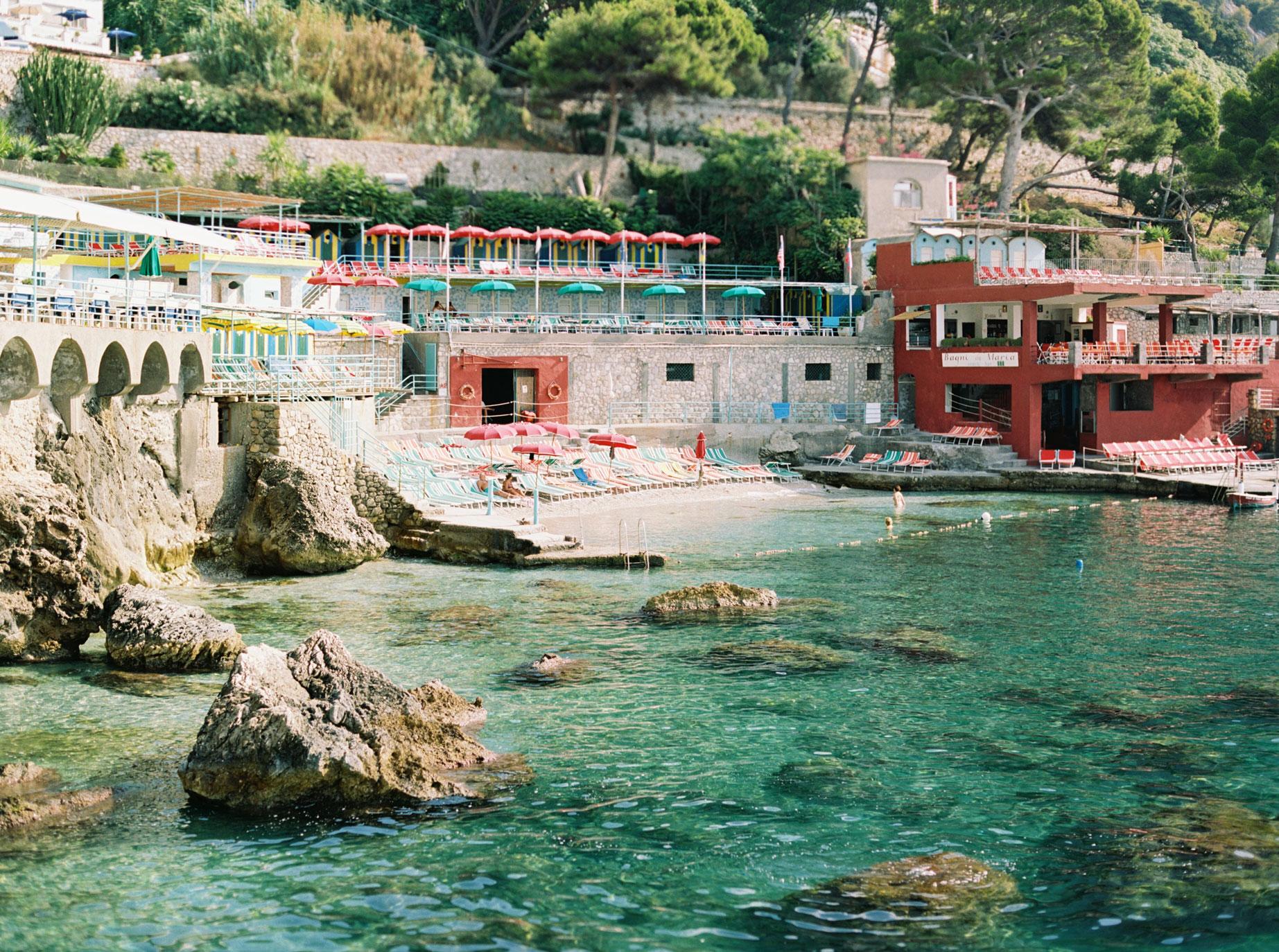 Hotel Ambassador in Capri, Italy by Shannon Skloss Photography