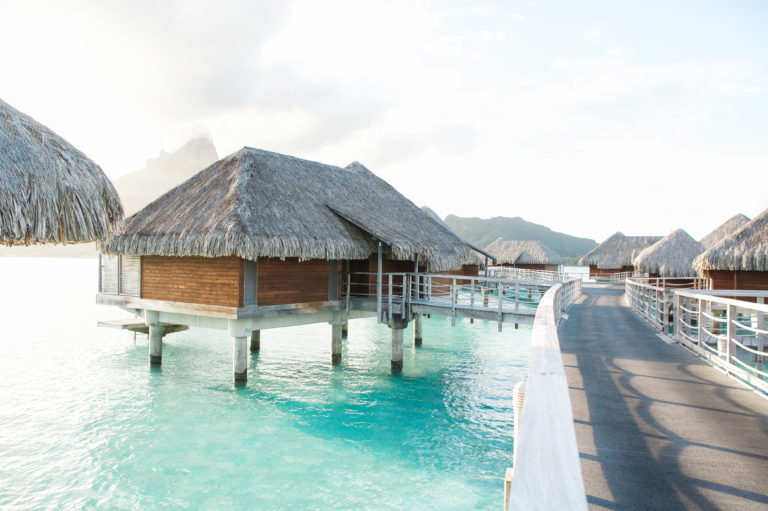 OVERWATER villa at Intercontinental Thalasso Bora Bora