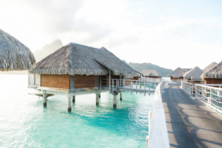 Overwater hut at Intercontinental Thalasso by Shannon Skloss