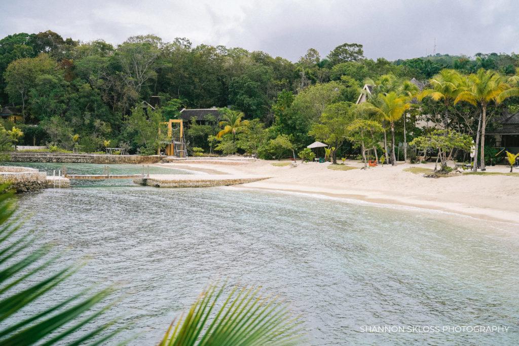 Goldeneye Resort beach by Shannon Skloss