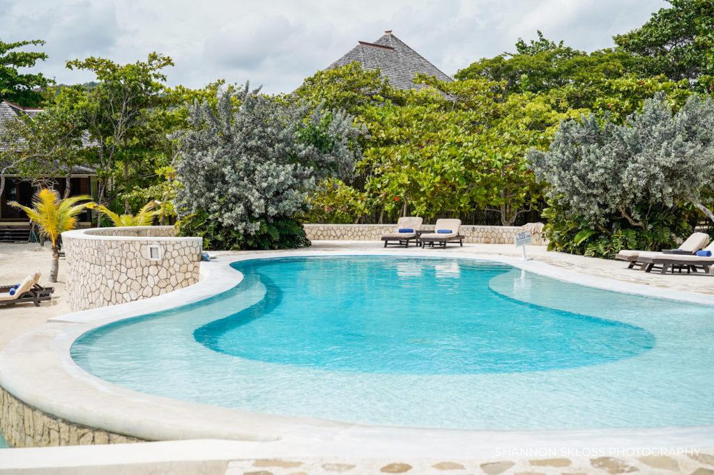 Pool at Goldeneye Resort