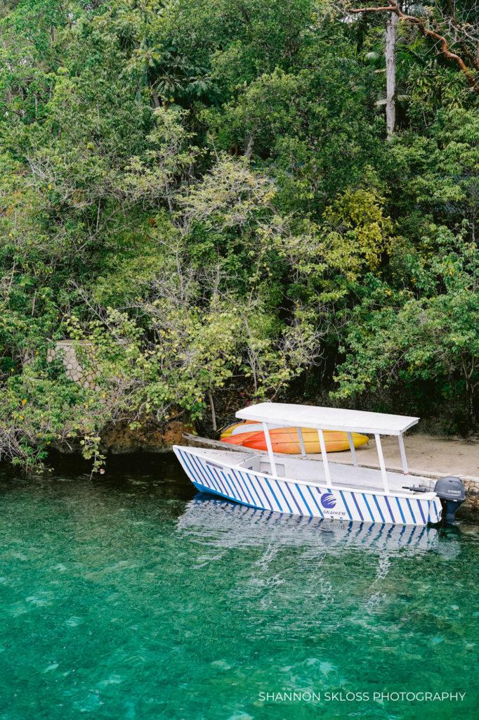 Lagoon at Goldeneye Resort