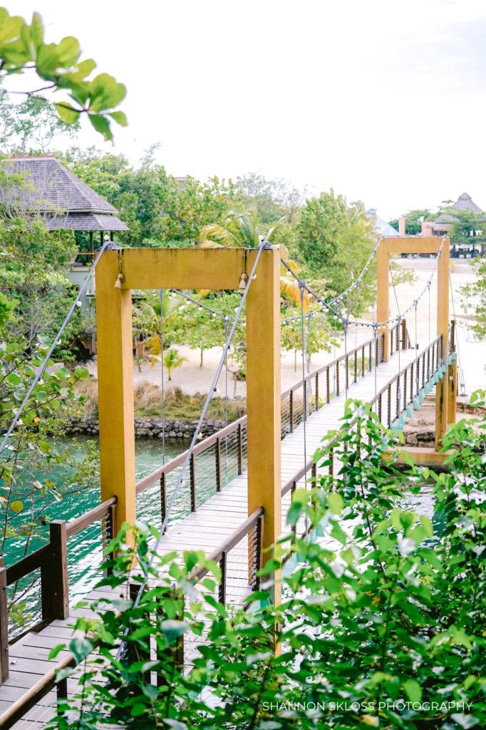 bridge at goldeneye resort