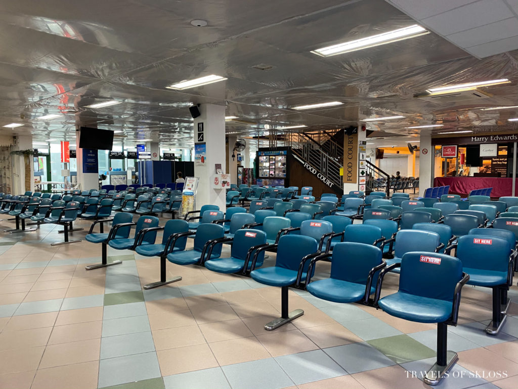 St Lucia Covid UVF airport